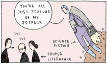 Cartoon by Tom Gauld